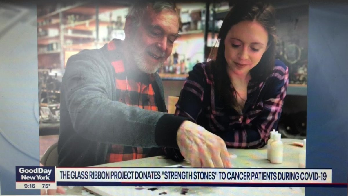 Glass Ribbon Project on Good Day New York